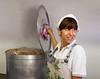 Valeggio; Sofrito filling cooking
