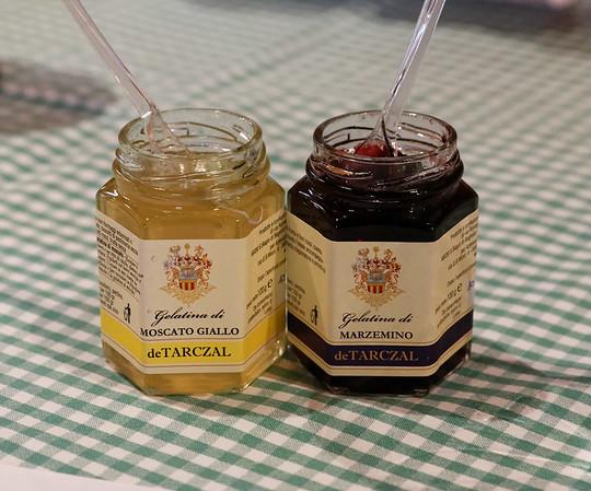 Marano, Azienda Agricola de Tarczal; jelly made from their grapes