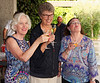 Selva Capuzza; Rena, Suzanne and Carol enjoy a drink before dinner