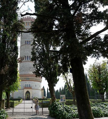 Tower of San Martino della Battaglia; a monumental building erected in 1878, to commemorate the Battle of San Martino, a portion of the Battle of Solferino in 1859.