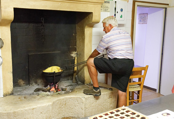 Marano di Valpolicella; Brant stirs in some smokey flavor