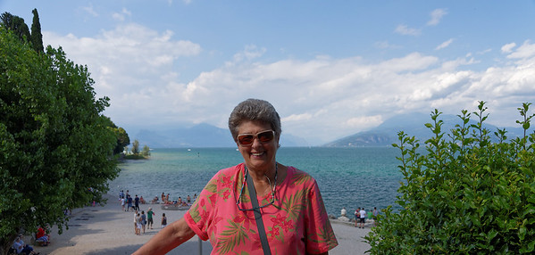 Sirmione; Suzanne and beach area