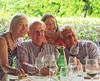 Marano di Valpolicella; Rena, Roger, Gloria and Brant