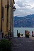 Malcesine, Lake Garda; popular sailing spot