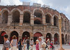 Verona: Roman era arena, outer course destroyed, 14-54 AD, predecessor to Rome's Colosseum