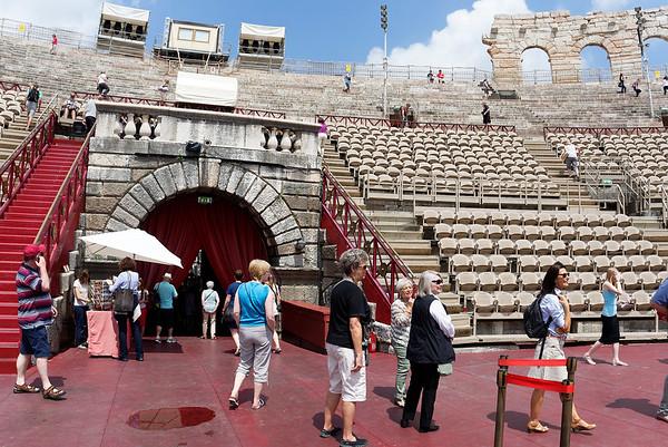 Verona: Arena, main entrance
