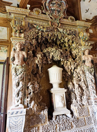 Mantua, Castle of St. George; Hall of Rivers, really unusual