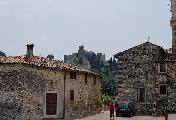 Soave; Soave Castle view, very narrow streets and the bus was not allowed in