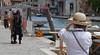 Venice; Lucy photographs dreadlocks