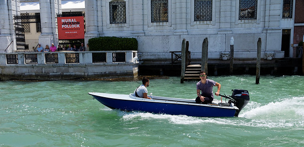 Venice; typical private boat