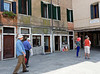 Venice; Jewish gheto, Banco Rosso the earliest pawn shop is under the overhang