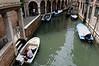 Venice; canal scene
