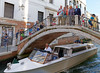 Venice; the group headed to dinner