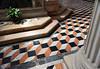 Venice; San Giorgio Maggiore, tile closeup