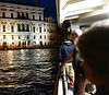 Venice; night cruise by water bus