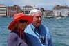 Venice; Sue and David, San Giorgio Maggiore