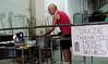 Venice; Murano Island glass blowing demo