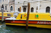 Venice; water ambulance