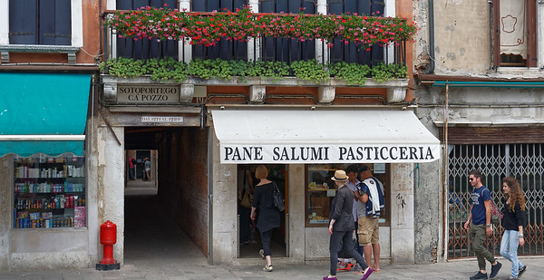 Venice; street scene