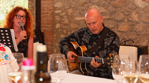 Selva Capuzza; our final dinner had guitar by Simone Guiducci and vocals by Maria, I believe.
