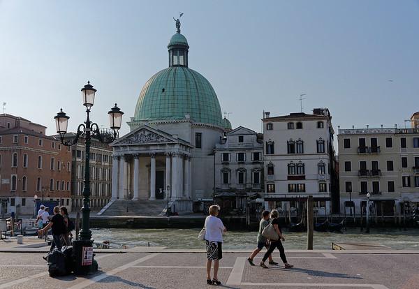 Venice, San Simeone Piccolo, across from Santa Lucia train station
