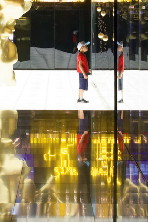 Expo Milano 2015:  Hall of mirrors and light