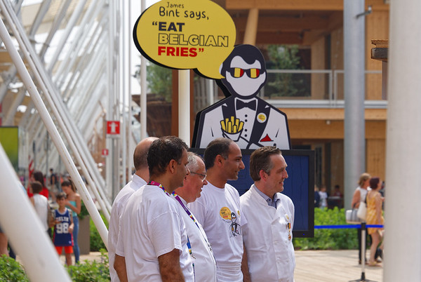 Expo Milano 2015:  Belgian Fries, unfortunately closed until after we left