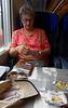 High speed train to Verona, drinks and snacks provided