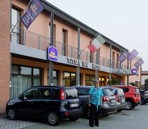 Stayed at Titian Inn Venice 1 night to rest up