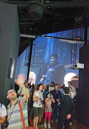 Expo Milano 2015:  Inside Zero, giant video playing on walls