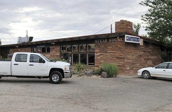 Red Rock Restaurant and Campground; great chicken-fried steak