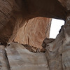 LaGorce Arch in Davis Gulch off the Escalante. - note the boys