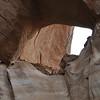LaGorce Arch in Davis Gulch off the Escalante. - note the boys