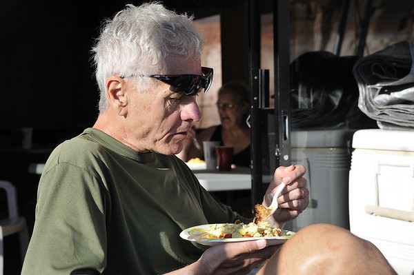 Just like Michael Phelps, athletes must consume vast quantities of food.