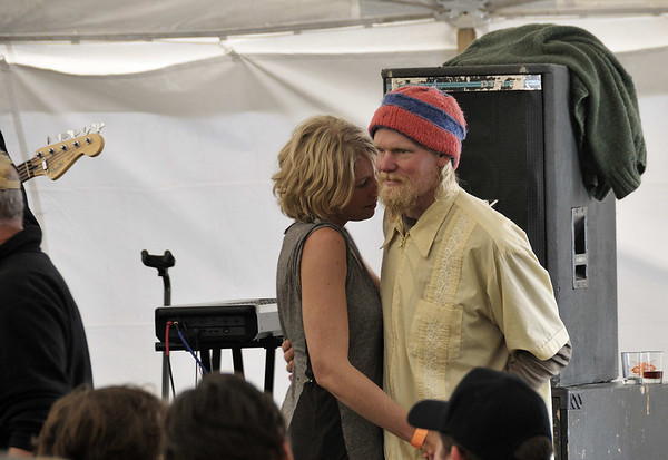 oddly romantic couple - great dancers, Oktoberfest, Southwest Harbor, ME