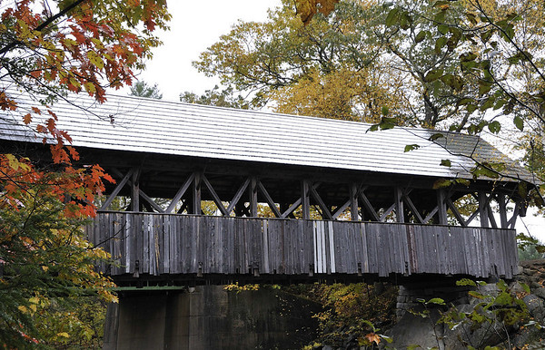 covered bridge, ME