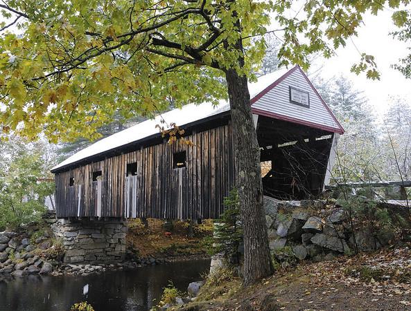 Lovejoy covered bridge, ME