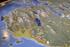 map, Acadia National Park
