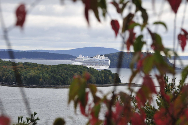 Cruise ship, Bar Harbor, ME