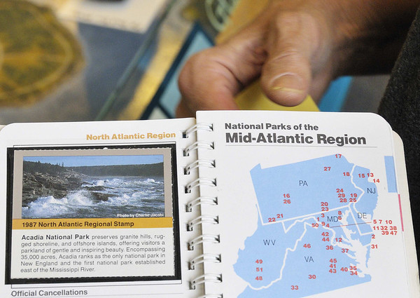 Acadia National Park stamp