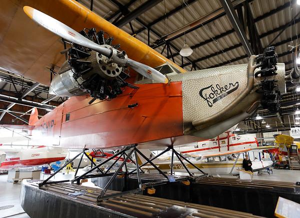 Sault Ste. Marie, Bushplane Museum, Fokker tri-motor