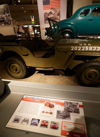 Detroit Ford Museum, start of the Jeep