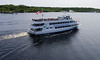 Parry Sound, loaded cruise boat