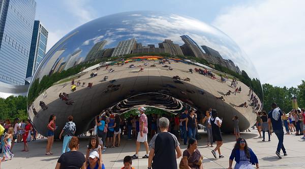 Chicago tour, Cloud Gate