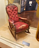 Detroit Ford Museum, Lincoln's chair from Ford's Theater