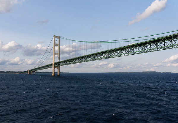 Mackinac Bridge from the Victoria I