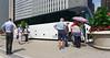 Chicago tour, our bus