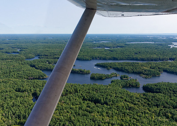Parry Sound Ontario, access by boat or plane only