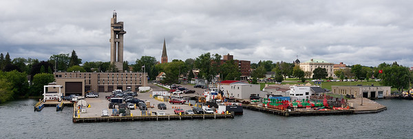 St. Mary's River, headed to Sault Ste. Marie locks, American side