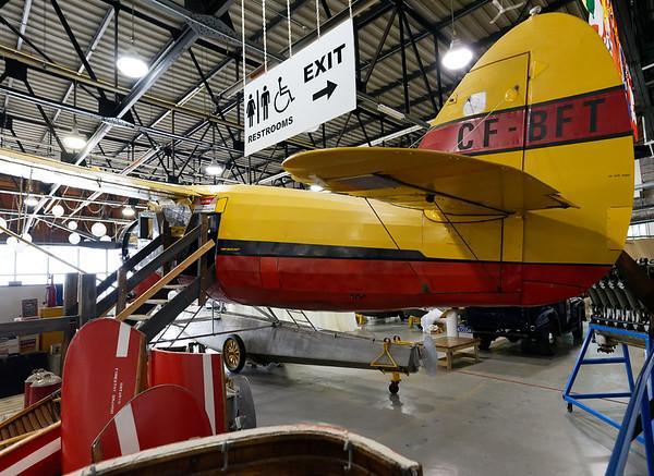 Sault Ste. Marie, Bushplane Museum, the Norseman